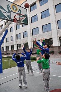 DIS SCHOOL,  BasketBall Ground